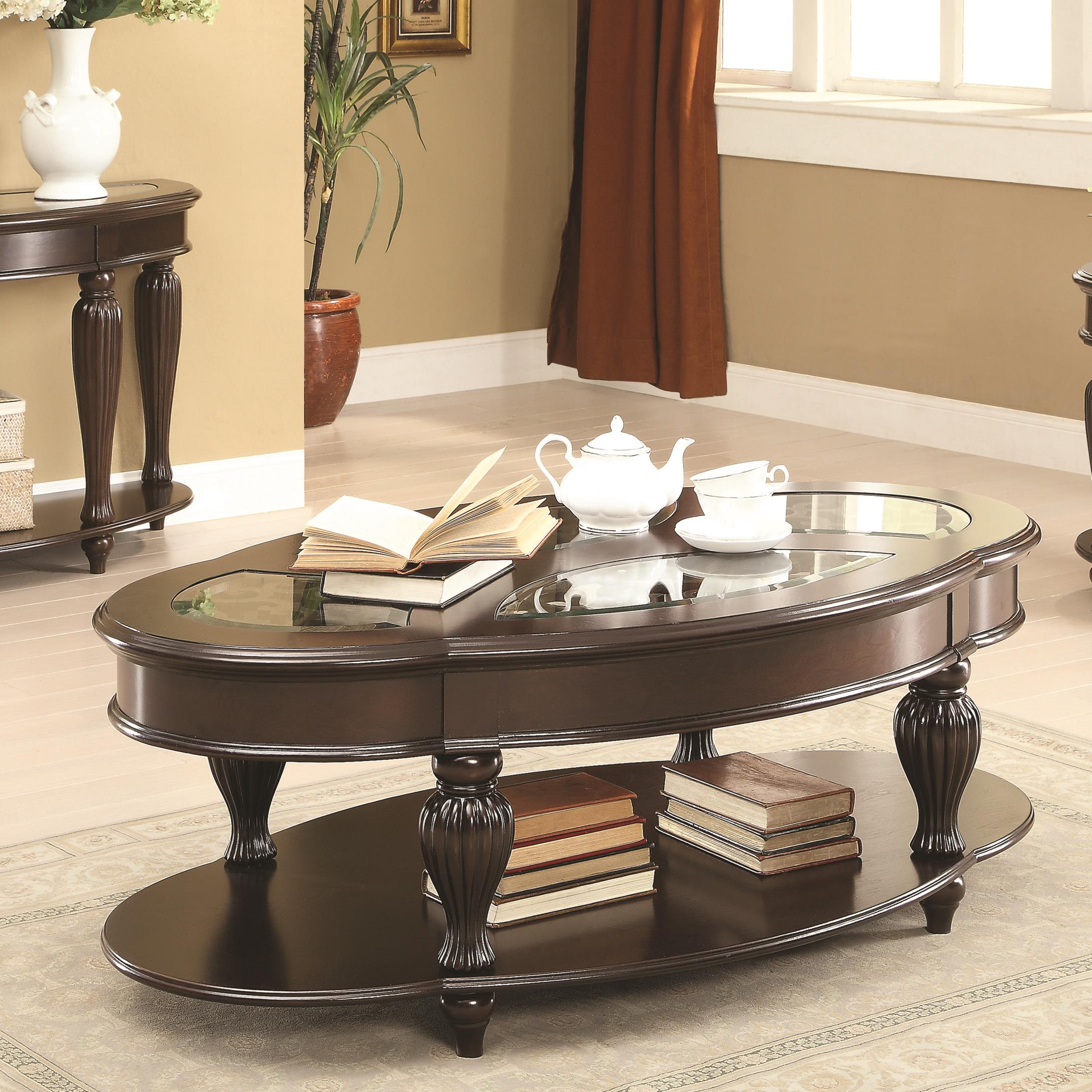 Coaster 70384 Coffee Table - Item Number: 703848