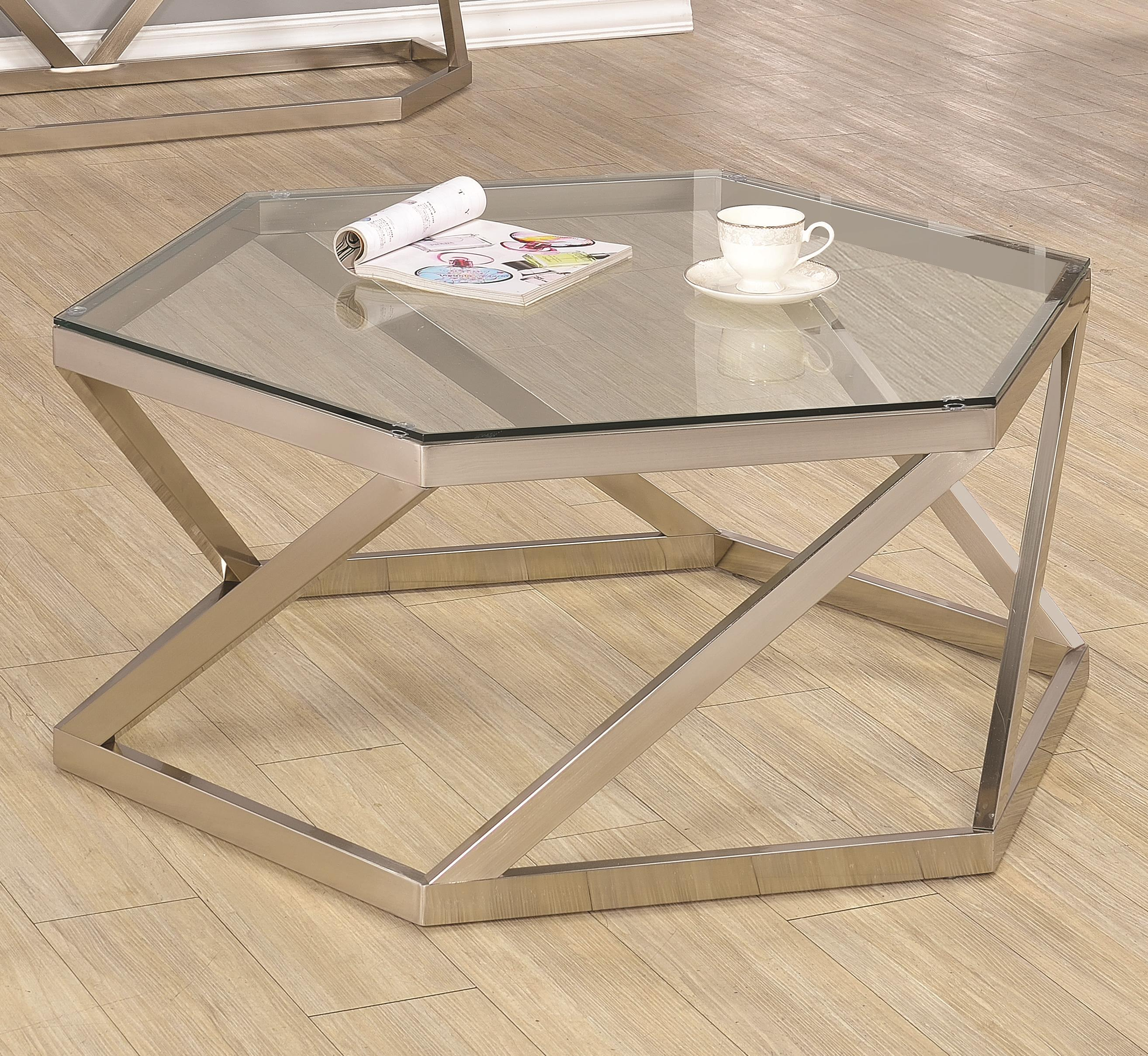 Coaster 70400 Coffee Table - Item Number: 704008