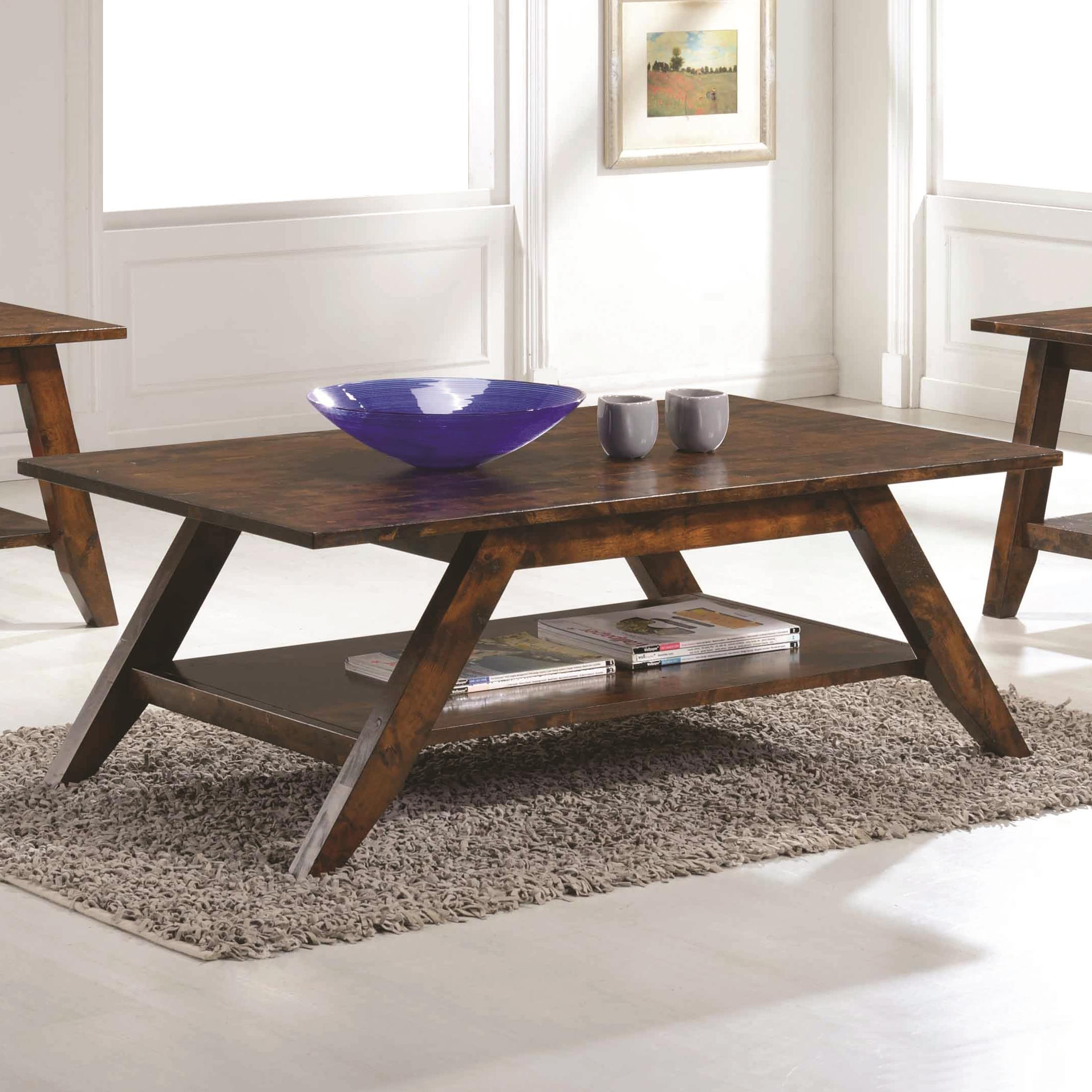 Coaster 70403 Coffee Table - Item Number: 704038