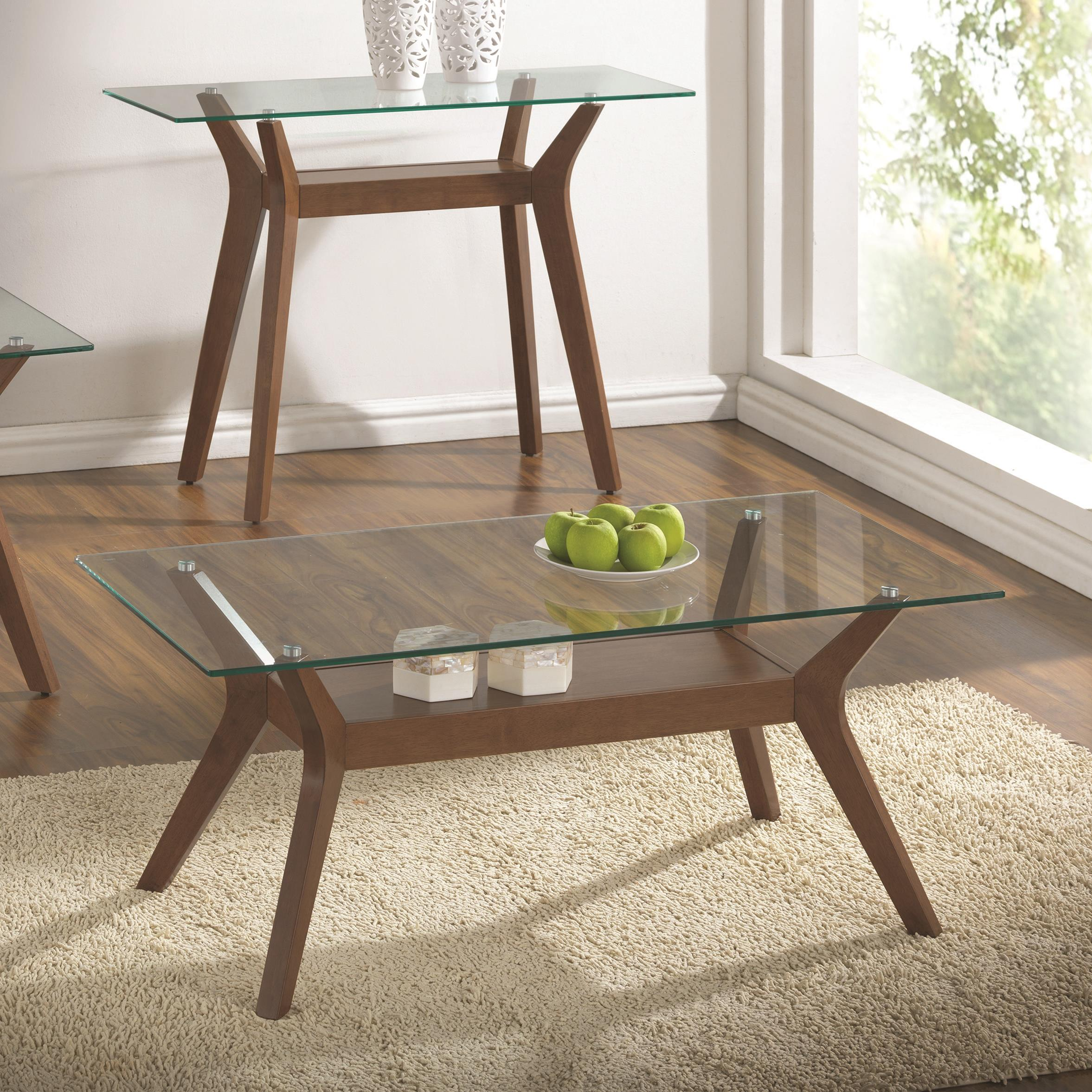 Coaster 70416 Coffee Table - Item Number: 704168