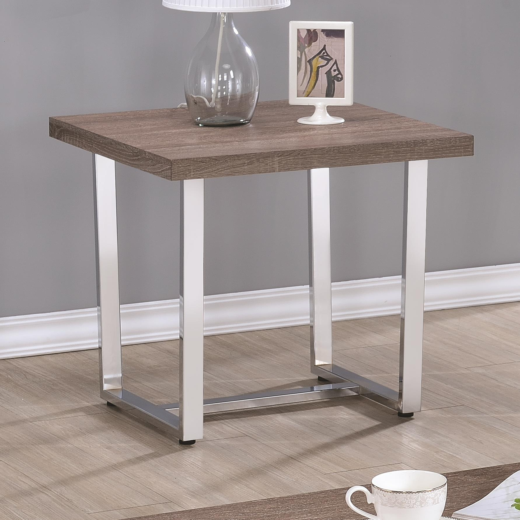 Coaster 70418 End Table - Item Number: 704187