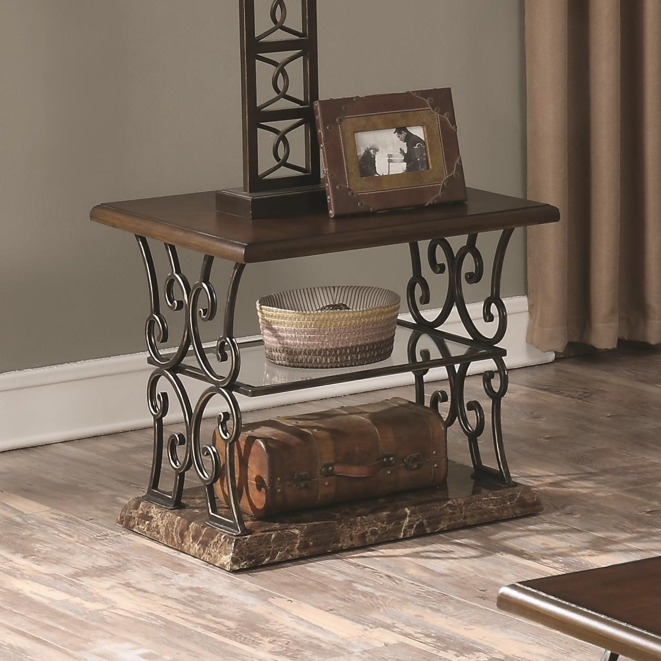 Coaster 70511 End Table - Item Number: 705117
