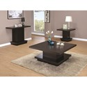 Coaster 70516 Modern Pedestal Coffee Table