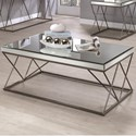 Coaster 70547 Mirrored Coffee Table - Item Number: 705478