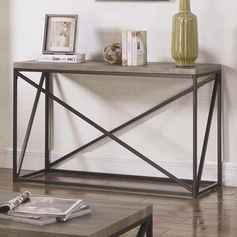 70561 Sofa Table by Coaster at Lapeer Furniture & Mattress Center