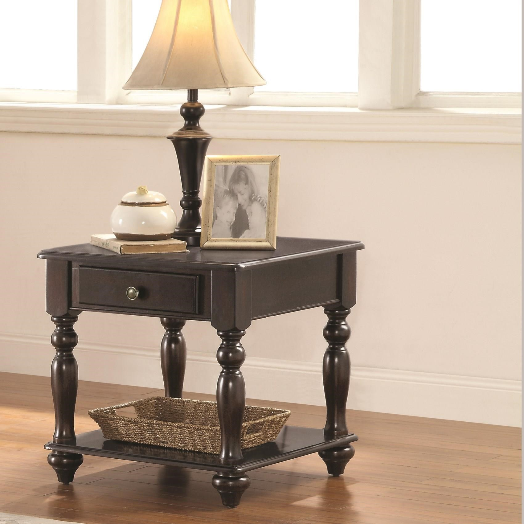 Coaster 72101 End Table - Item Number: 721017