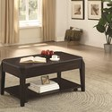 Coaster 72104 Rectangular Lift Top Coffee Table