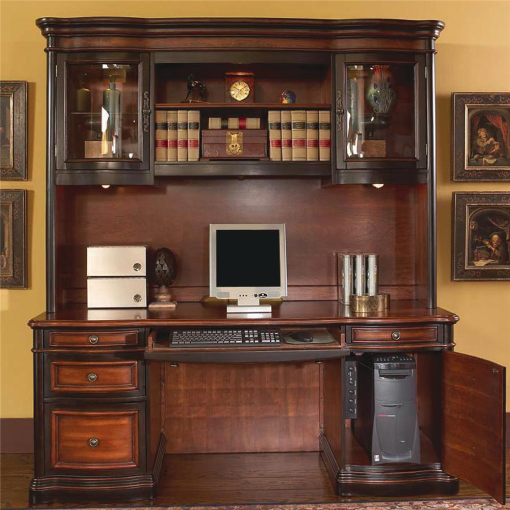 Coaster Pergola Credenza and Hutch - Item Number: 800500+501