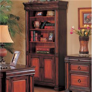 Coaster Chomedey Traditional Combination Bookcase