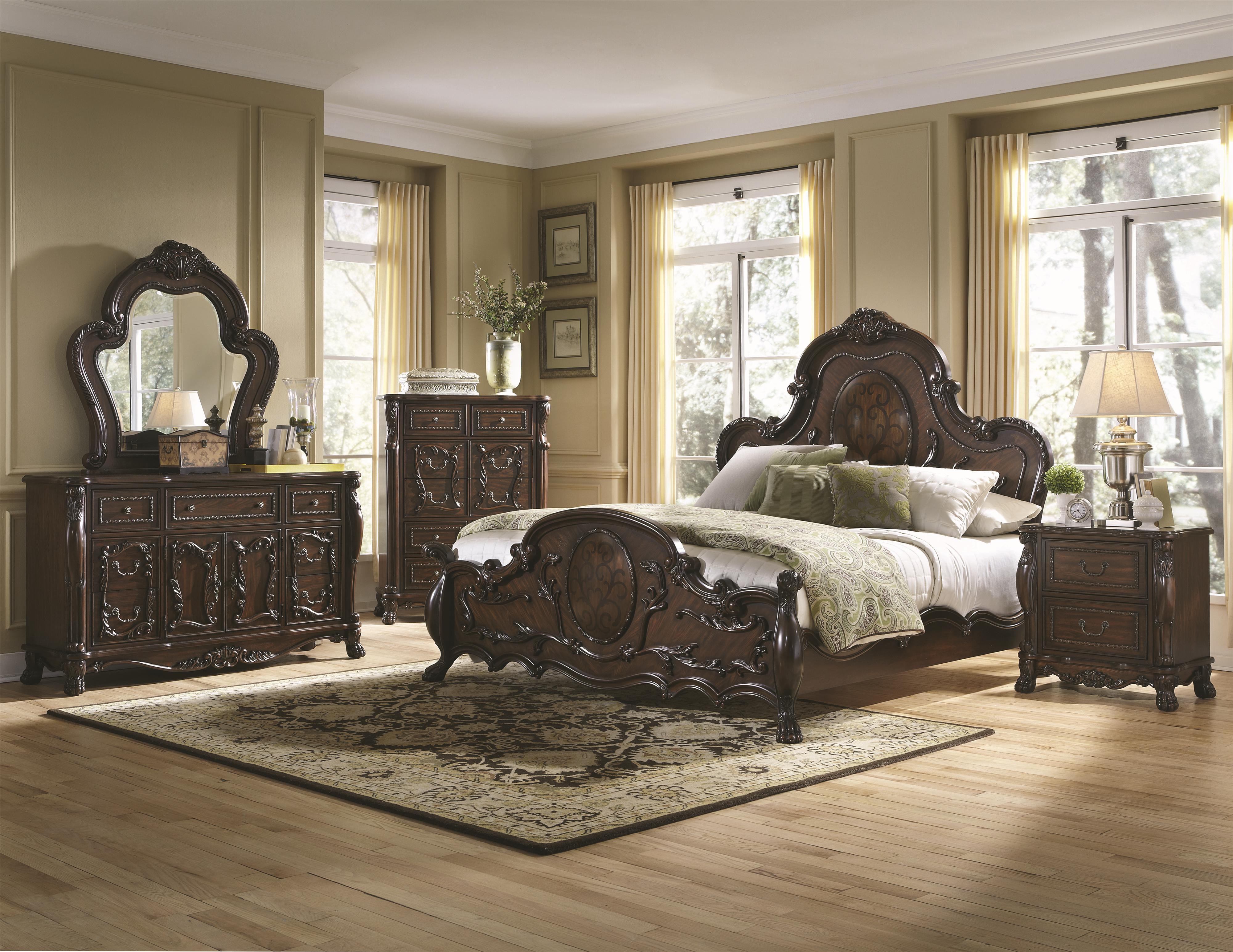 Coaster Abigail King Bedroom Group 1 - Item Number: 20445 K Bedroom Group 1