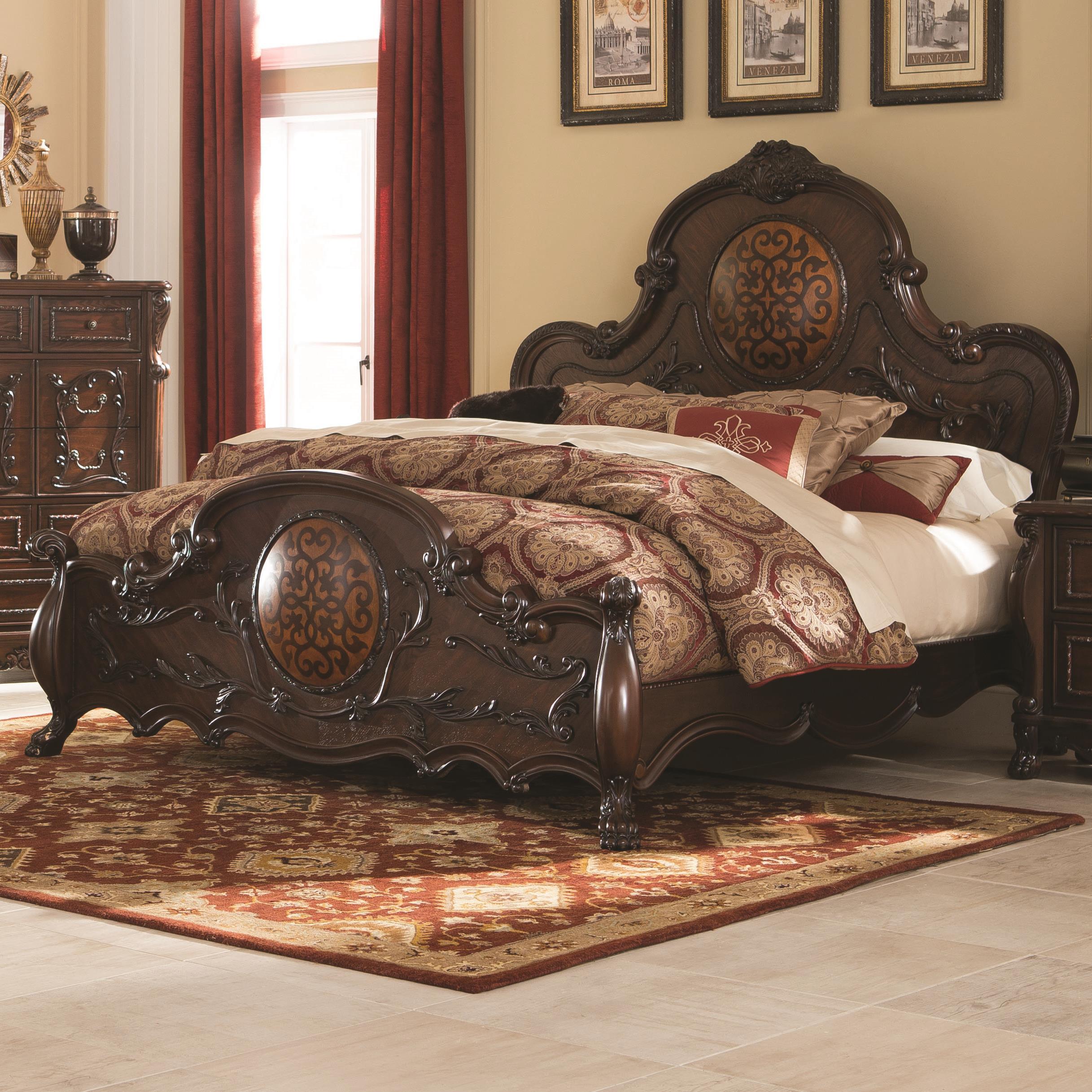 Coaster Abigail King Bed - Item Number: 204450KE