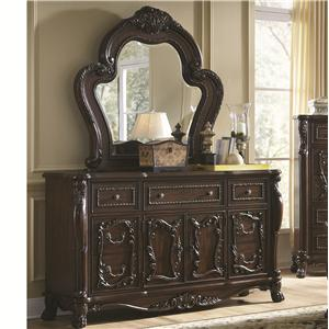 Coaster Abigail Dresser with Mirror