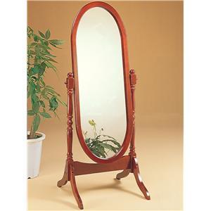 Coaster Accent Mirrors Cheval Oval Mirror