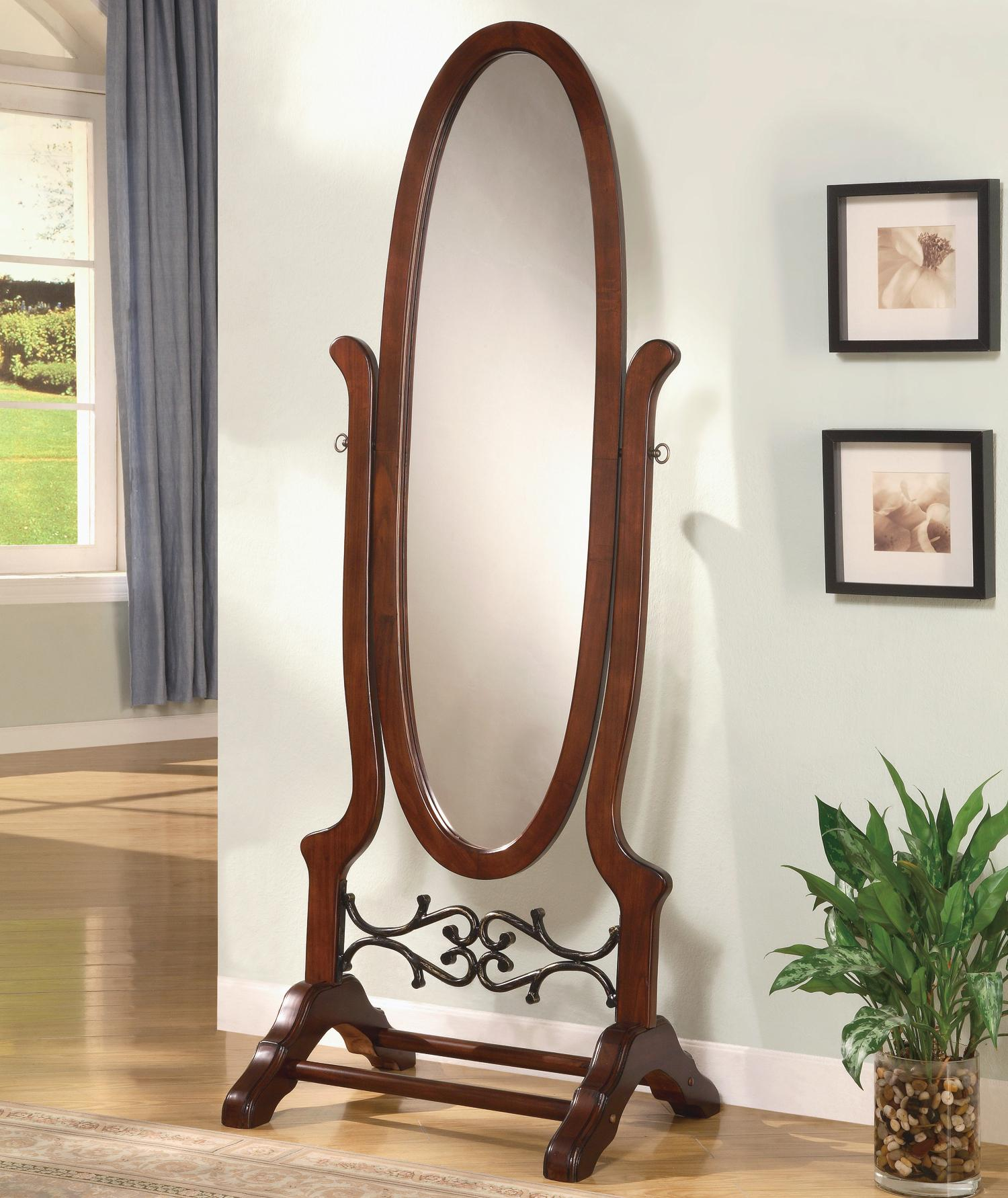 Coaster Accent Mirrors Cheval Mirror - Item Number: 900466