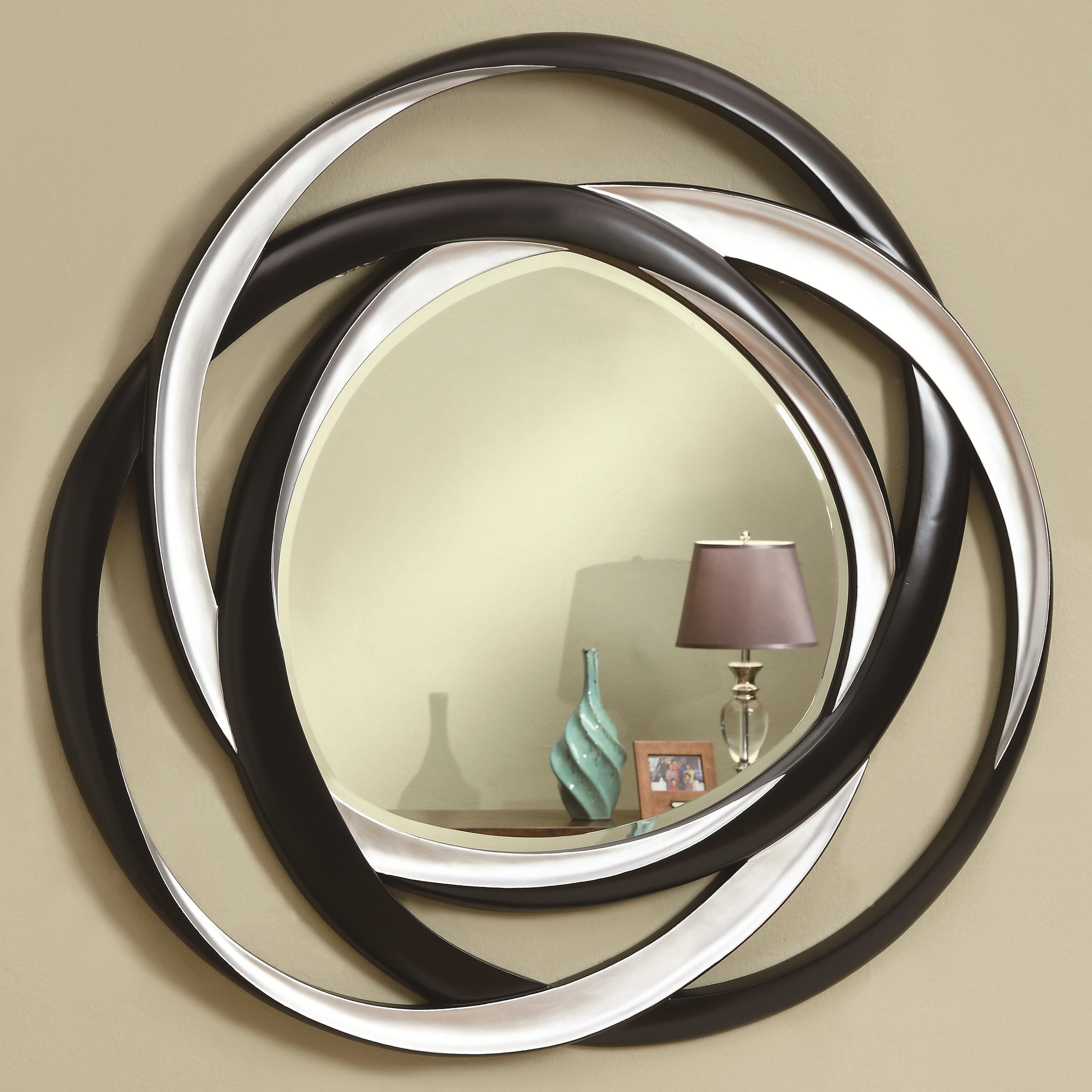 Coaster Accent Mirrors Two Tone Contemporary Mirror