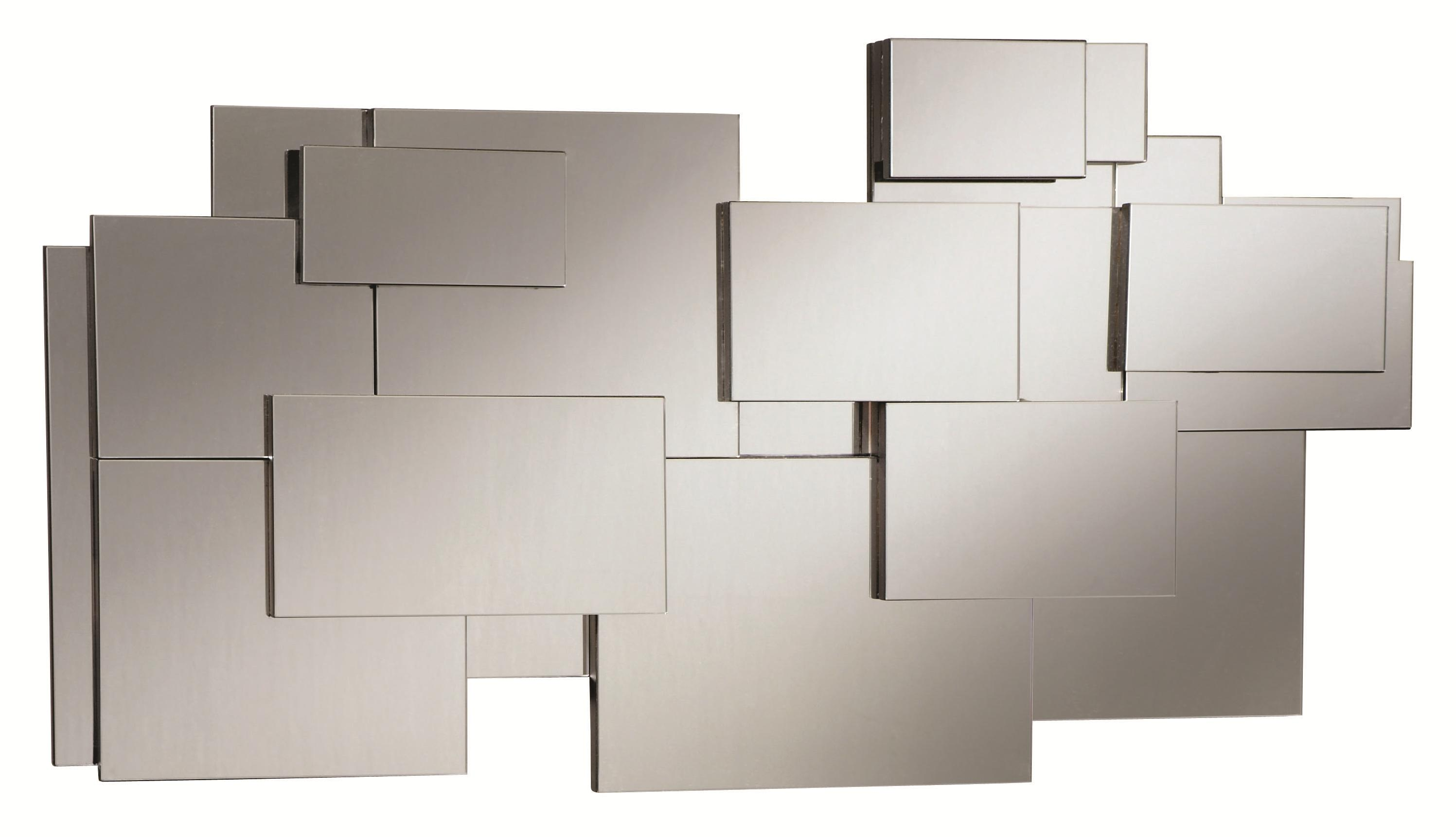 Fine Furniture Accent Mirrors 901745 Contemporary Stacked ...