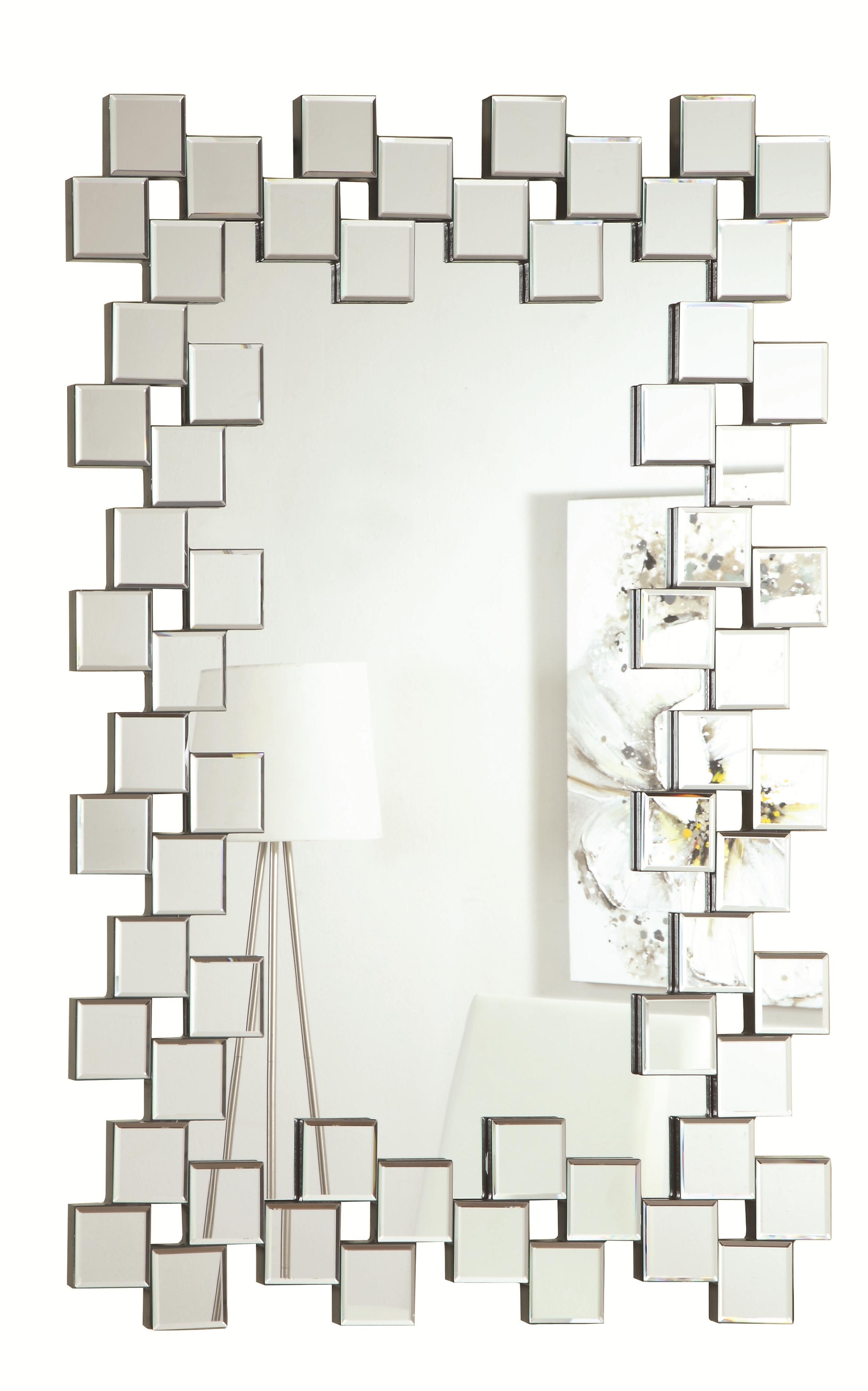 Accent Mirrors Wall Mirror by Coaster at A1 Furniture & Mattress