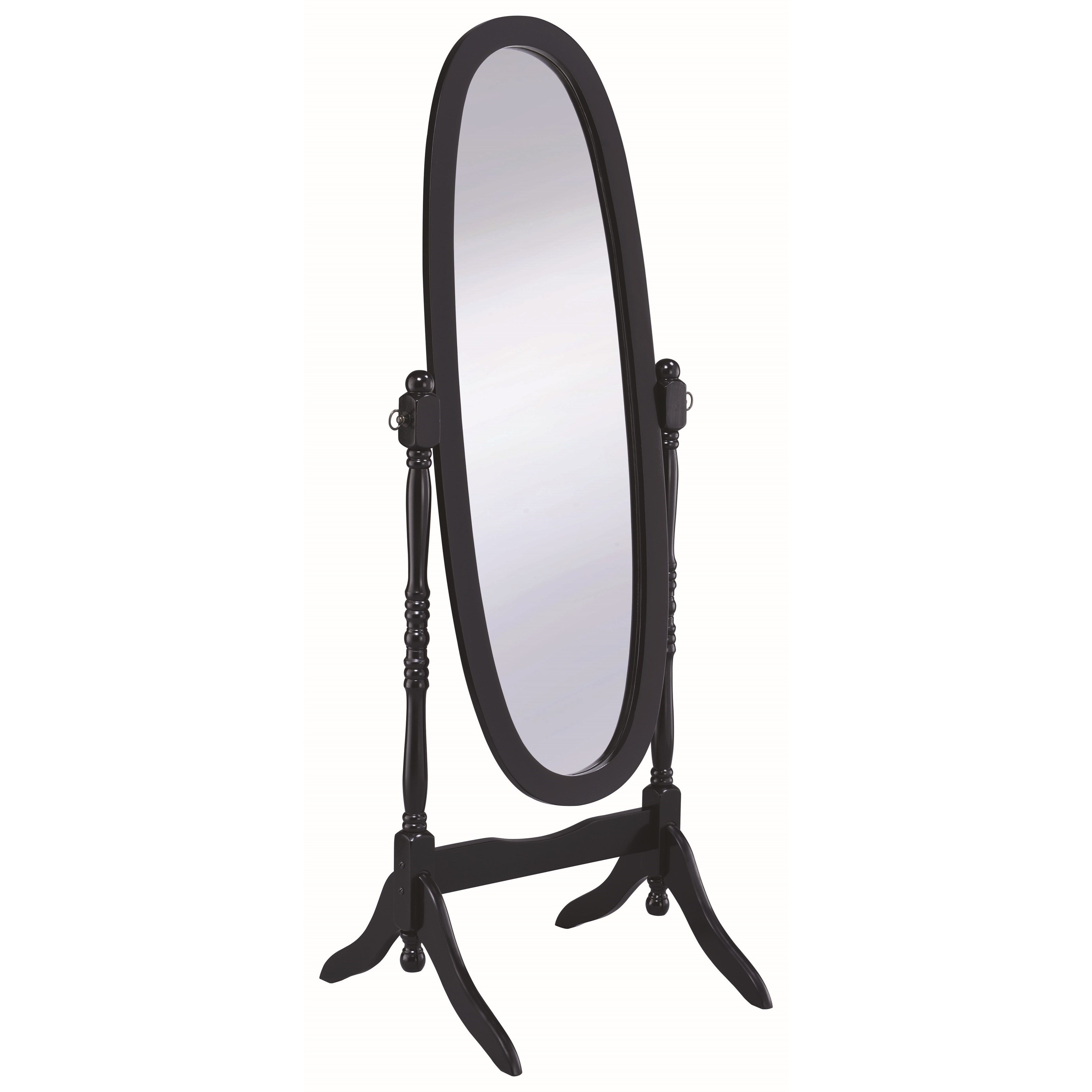 Accent Mirrors Cheval Mirror by Coaster at A1 Furniture & Mattress