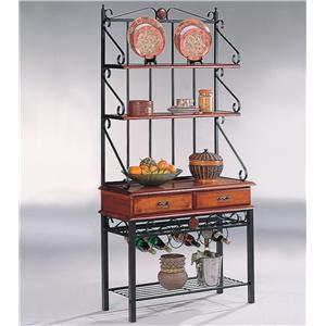 Coaster Accent Racks Kitchen Cabinet