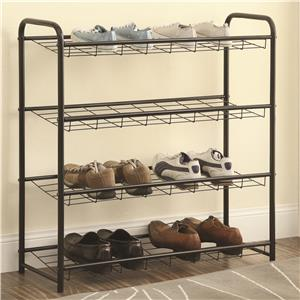 Coaster Accent Racks Shoe Rack