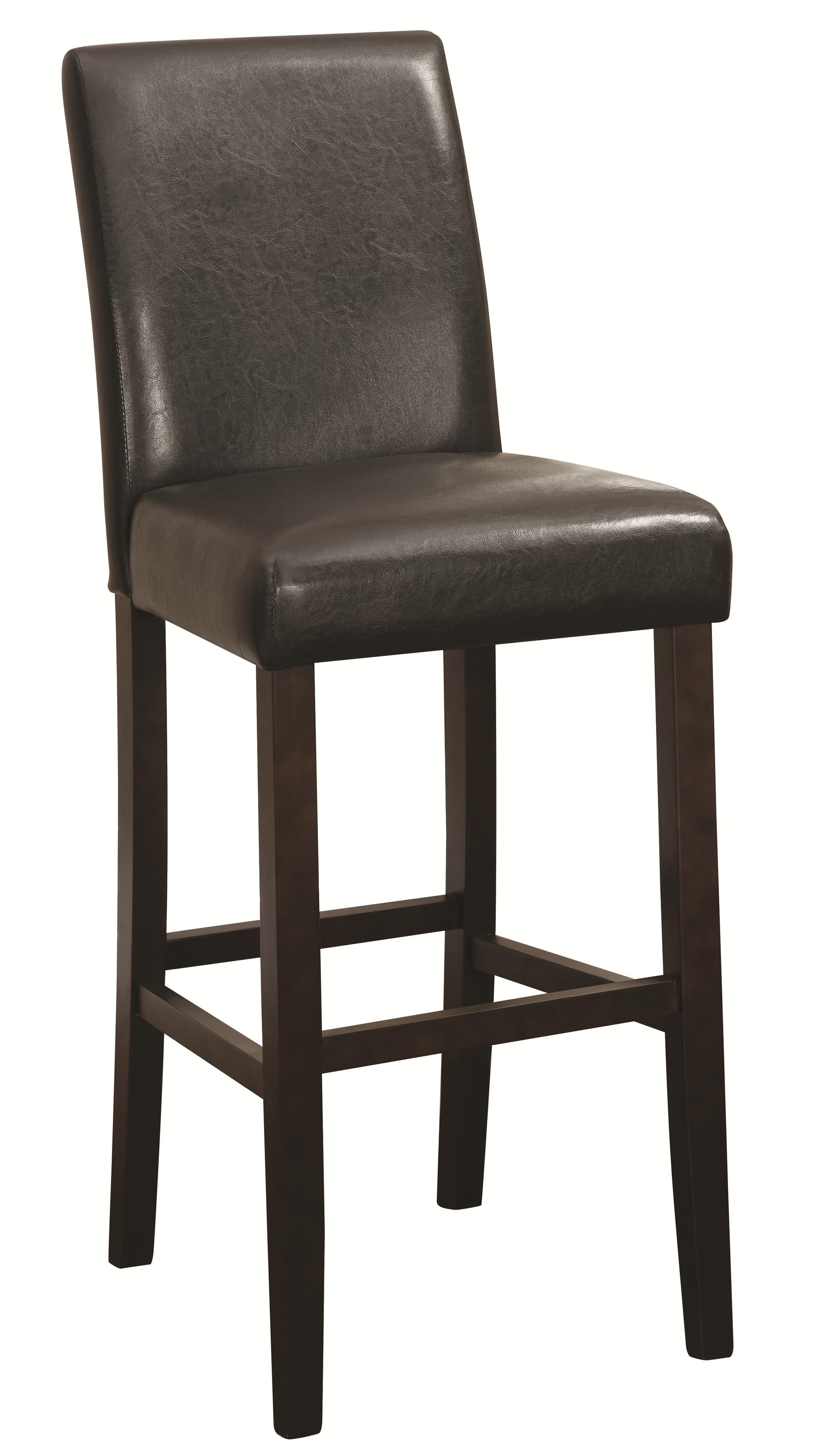 Coaster Accent Seating 130060 Bar Height Parson Stool