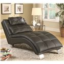 Coaster Accent Seating Chaise - Item Number: 550075