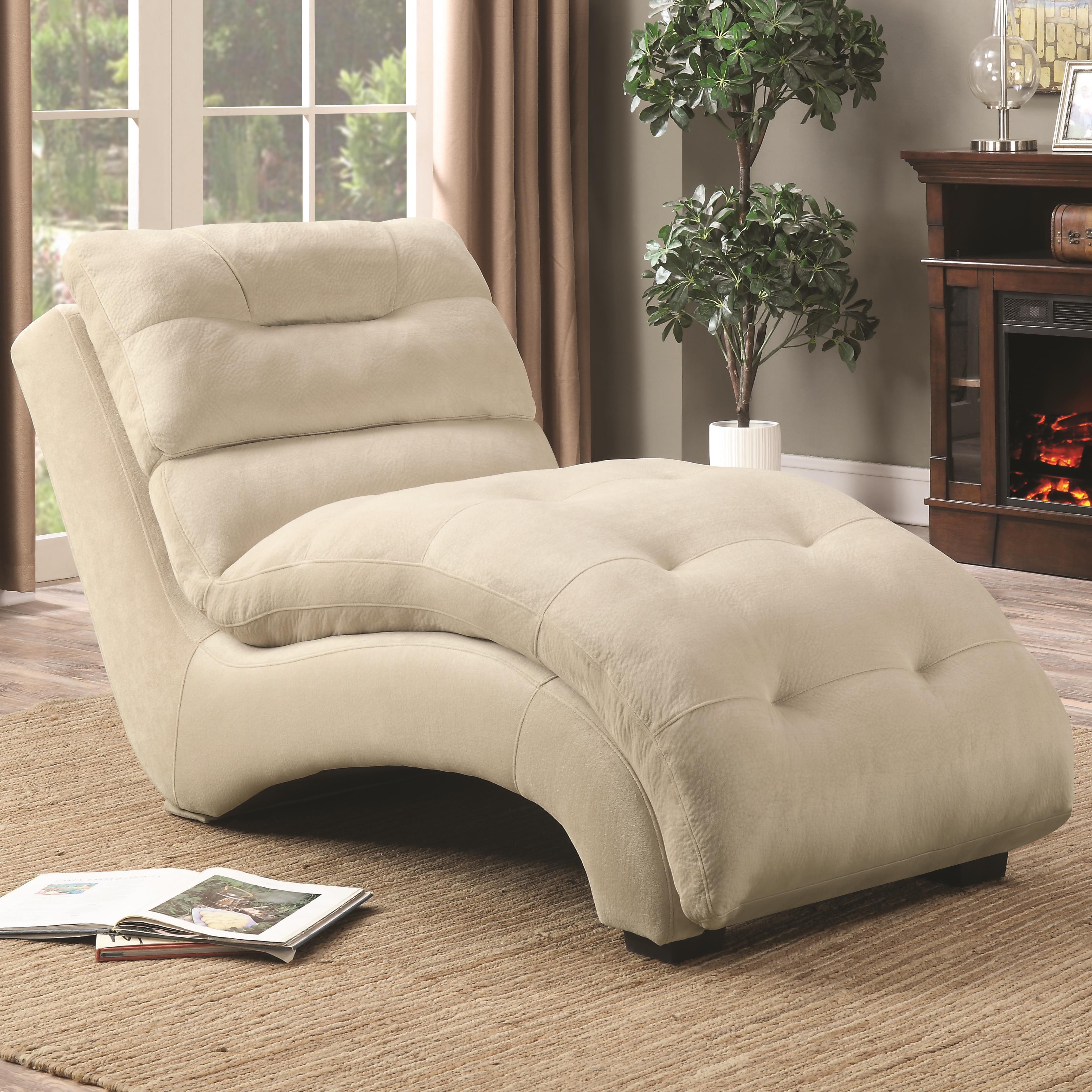 Coaster Accent Seating Chaise - Item Number: 550347