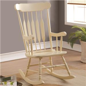 Coaster Accent Seating Rocking Chair