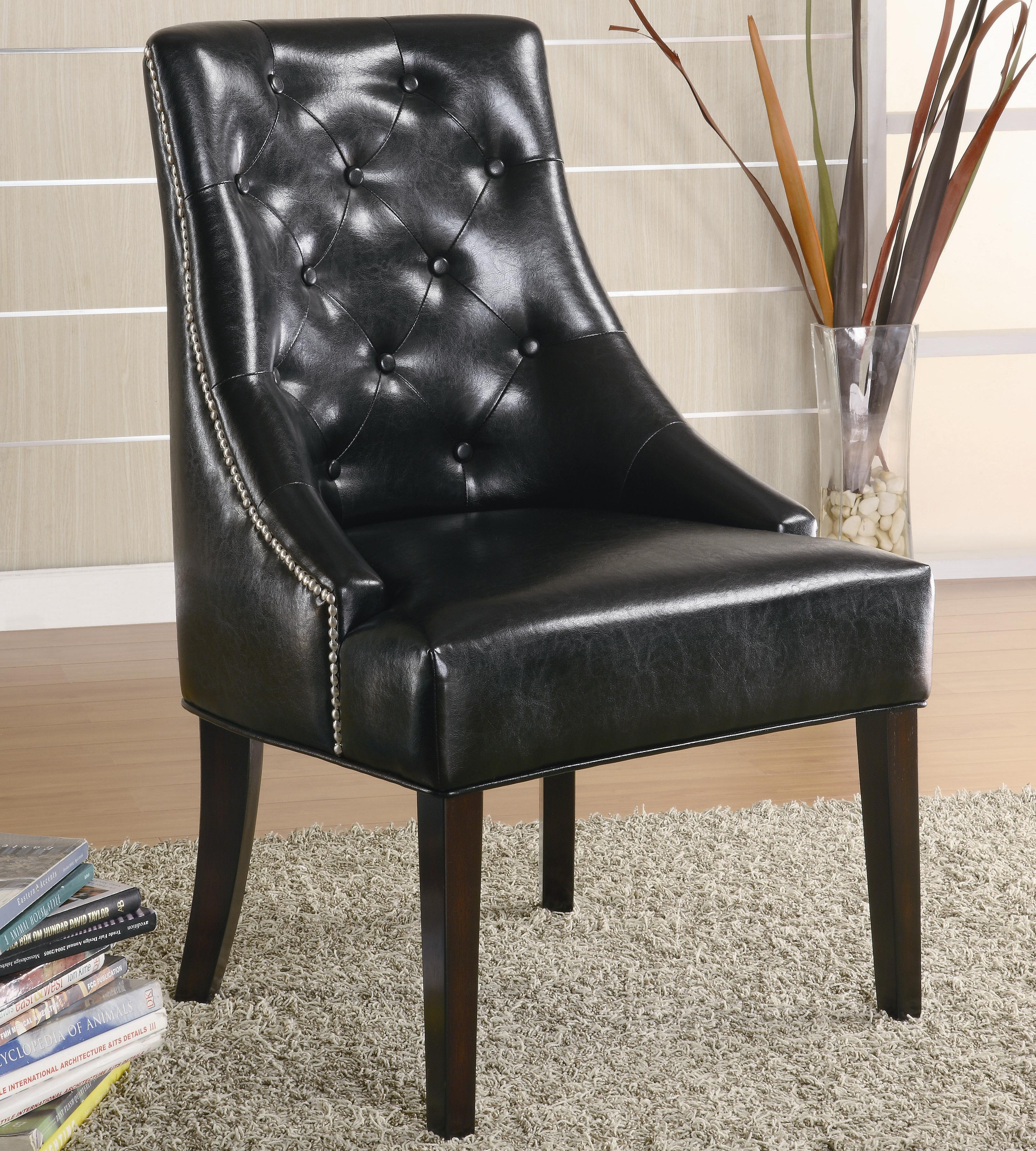 Coaster Accent Seating Upholstered Accent Chair With