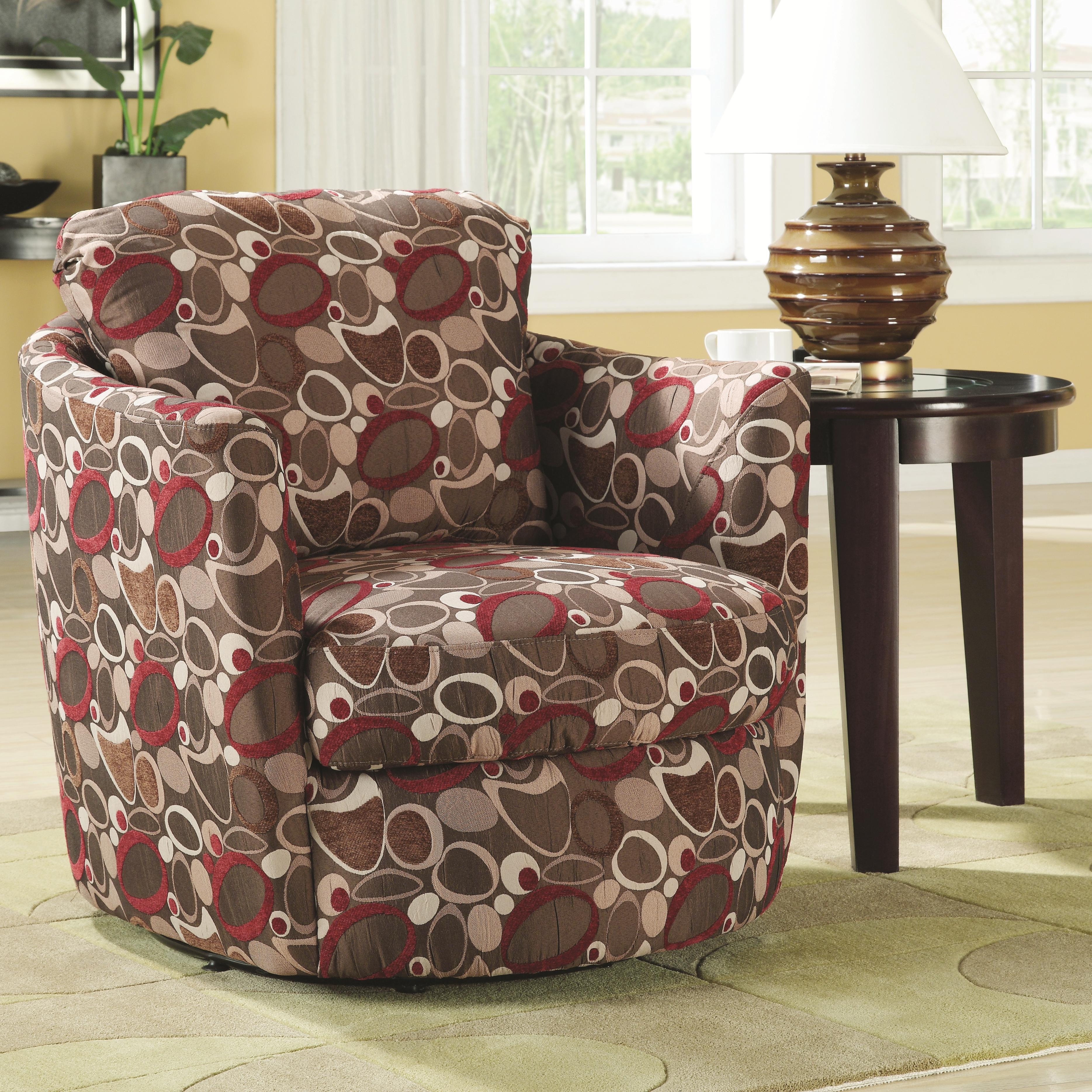 Coaster Accent Seating Swivel Chair - Item Number: 900406