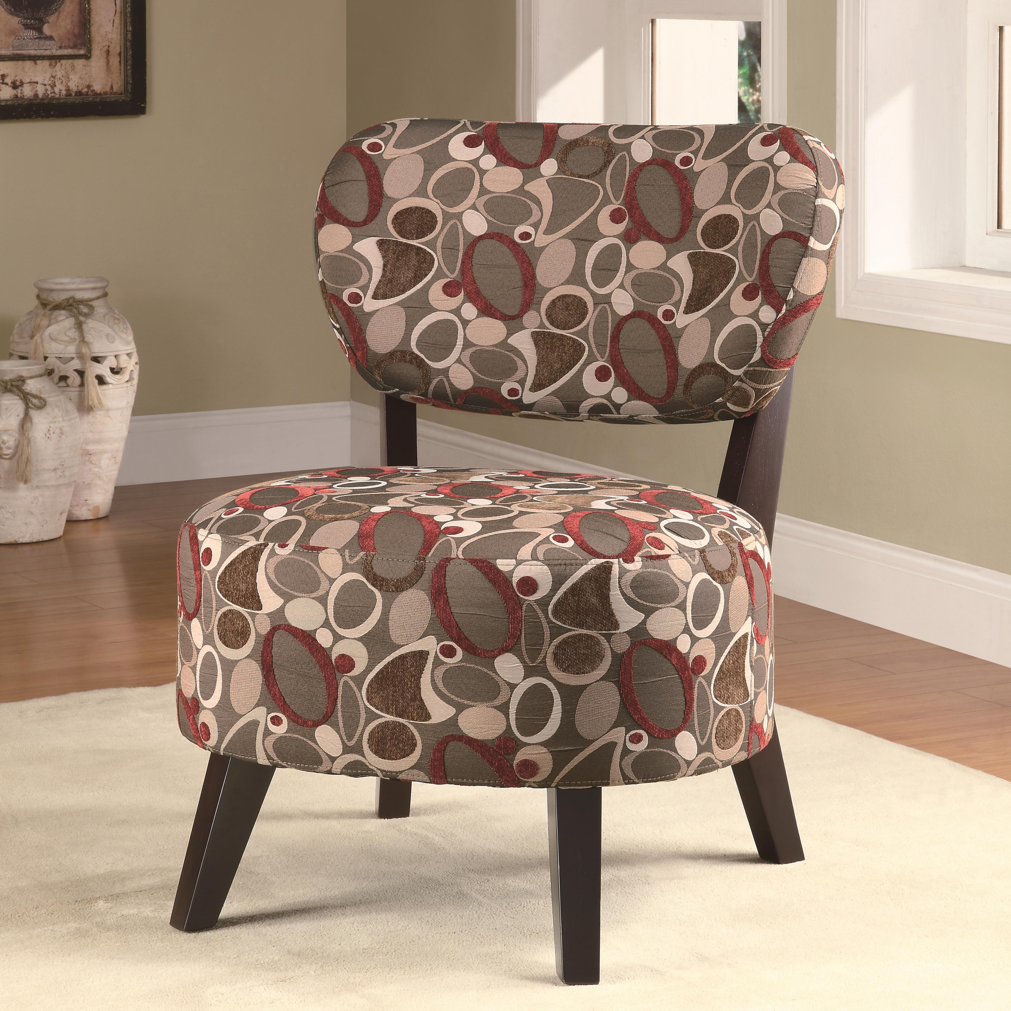 Coaster Accent Seating Accent Chair W Padded Seat Value