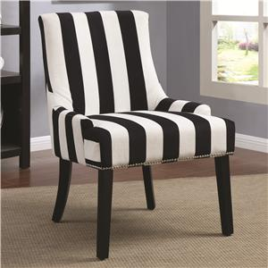 Coaster Accent Seating Armless Upholstered Chair