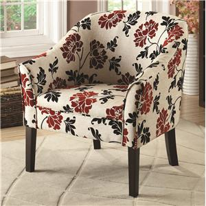 Coaster Accent Seating Casual Den Chair