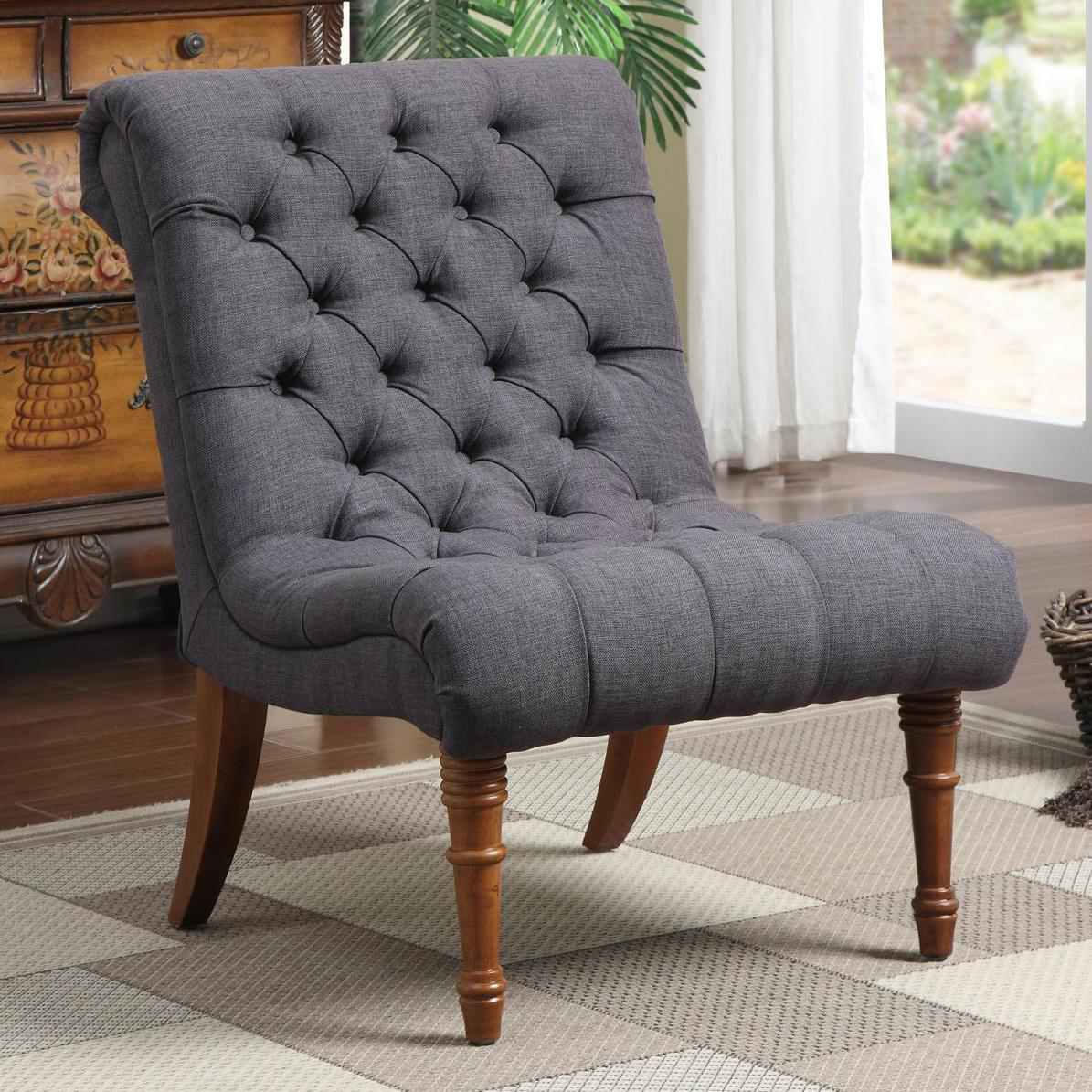 Coaster Accent Seating Tufted Accent Chair - Item Number: 902217