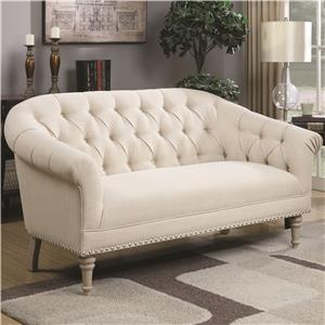 Coaster Accent Seating Settee