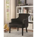Coaster Accent Seating Elegant Accent Chair with Nailhead Trim