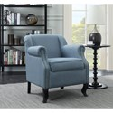 Coaster Accent Seating Traditional Accent Chair with Nailhead Trim