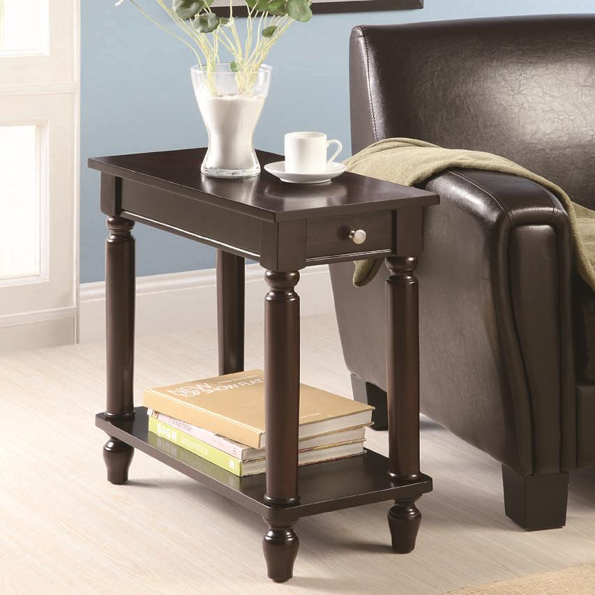 Coaster Accent Tables Chairside Table - Item Number: 900972