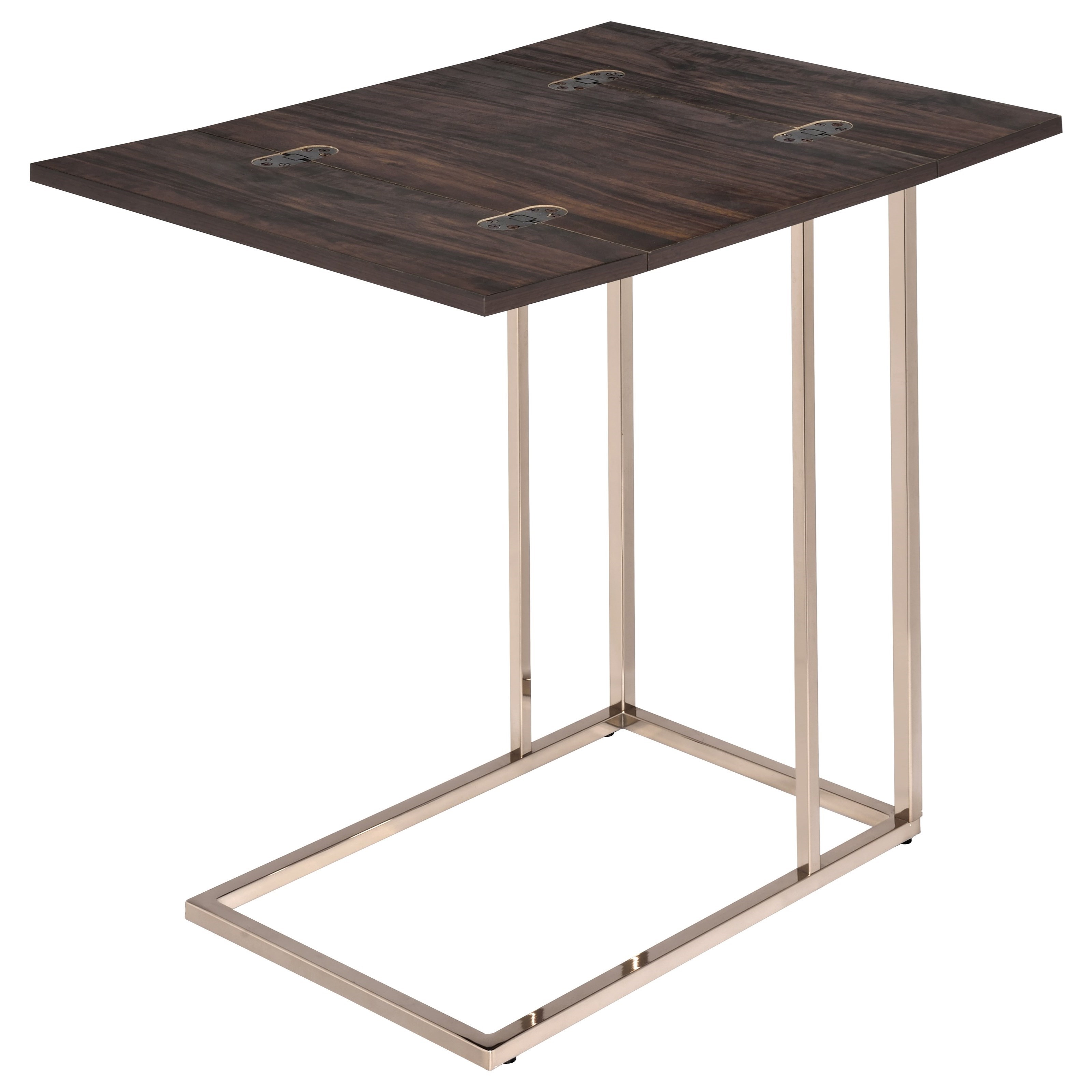 Coaster Accent Tables Snack Table With Expandable Rotating