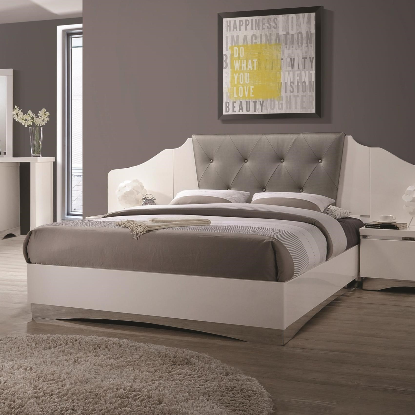 Coaster Alessandro King Low Profile Bed - Item Number: 205001KE
