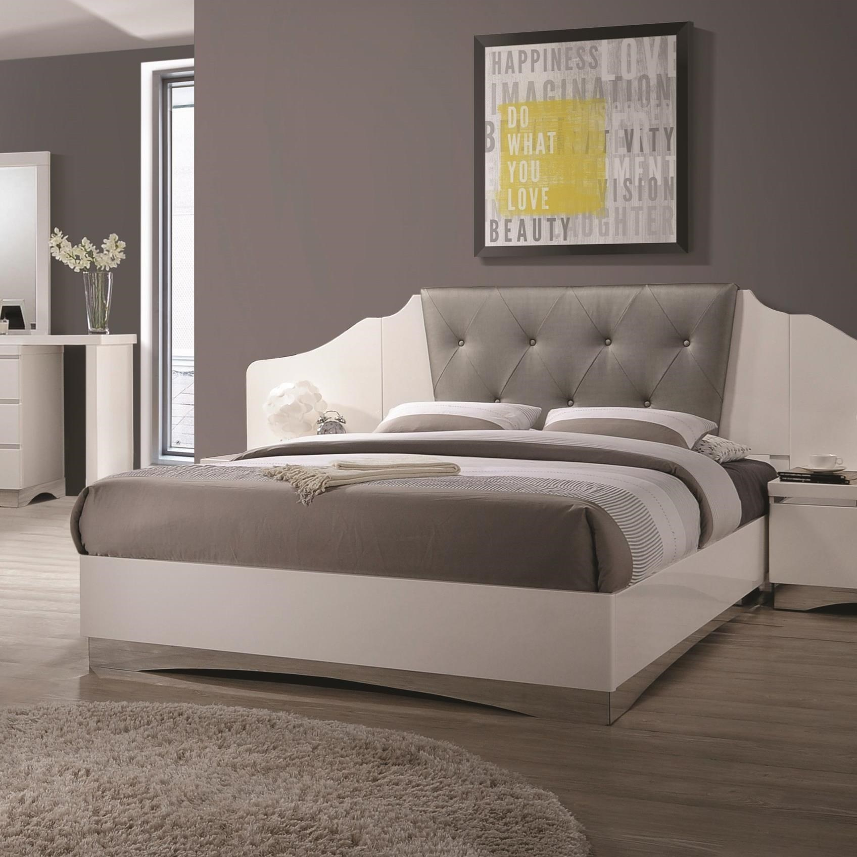 Coaster Alessandro Queen Low Profile Bed - Item Number: 205001Q