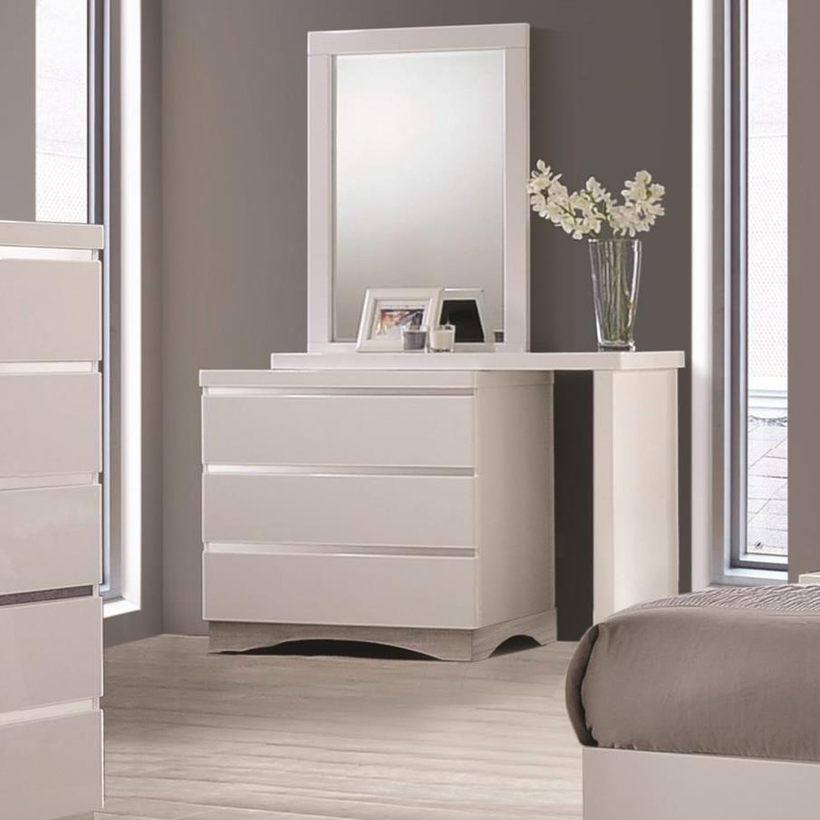 Coaster Alessandro 3 Drawer Dresser - Item Number: 205003