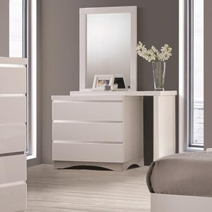Coaster Alessandro 3 Drawer Dresser