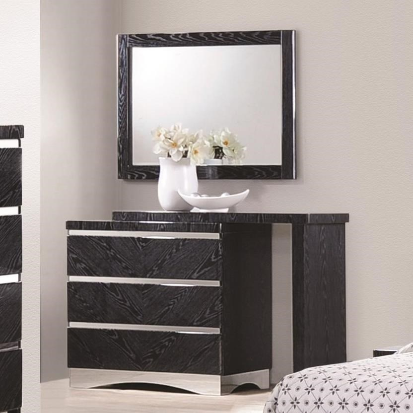 Coaster Alessandro 3 Drawer Dresser - Item Number: 205023