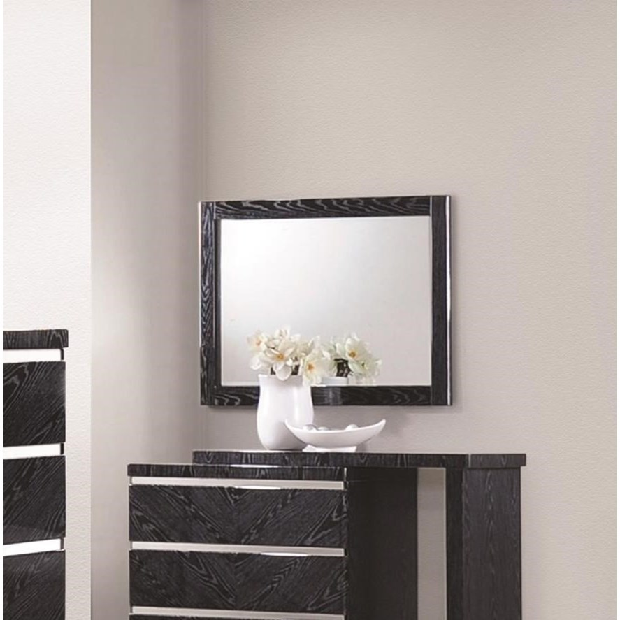 Coaster Alessandro Mirror with Wood Frame - Item Number: 205024