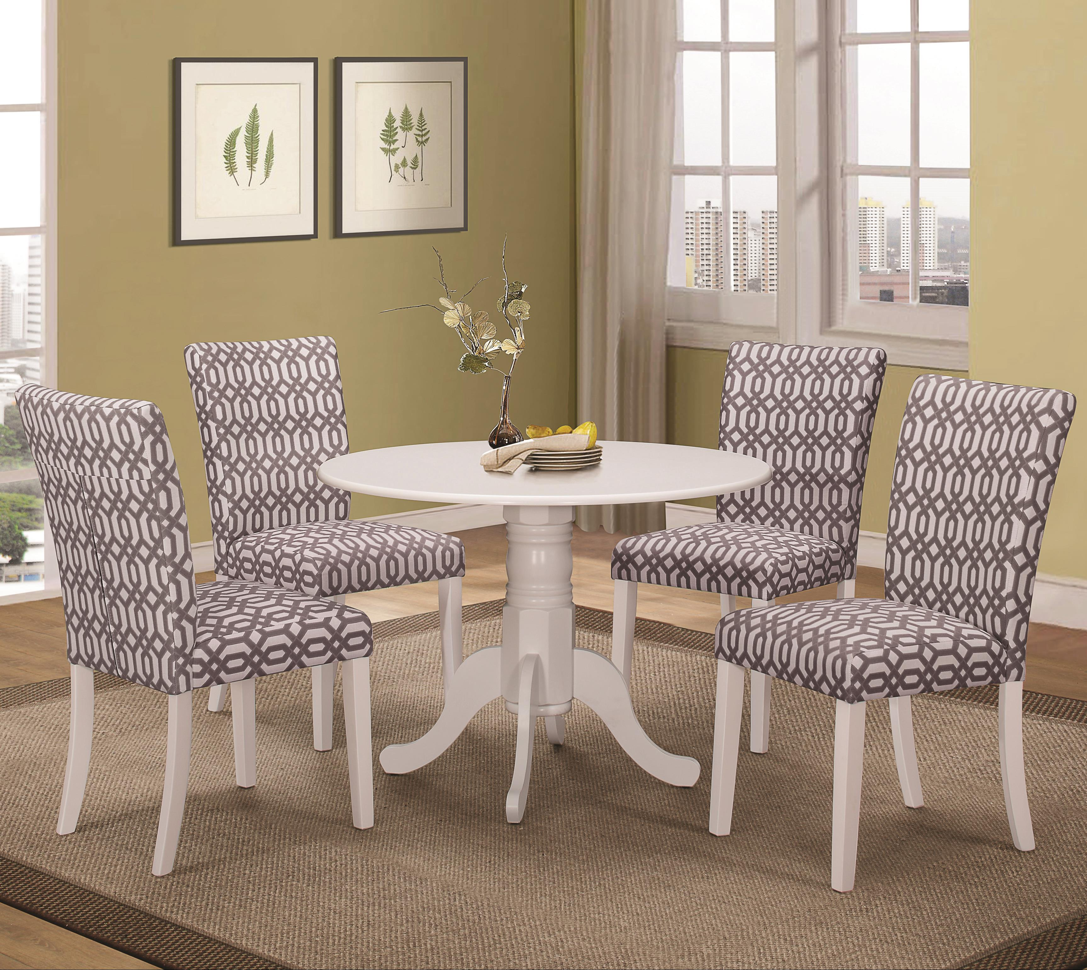 Coaster Allston 5 Pc Table & Chair Set - Item Number: 106641+642