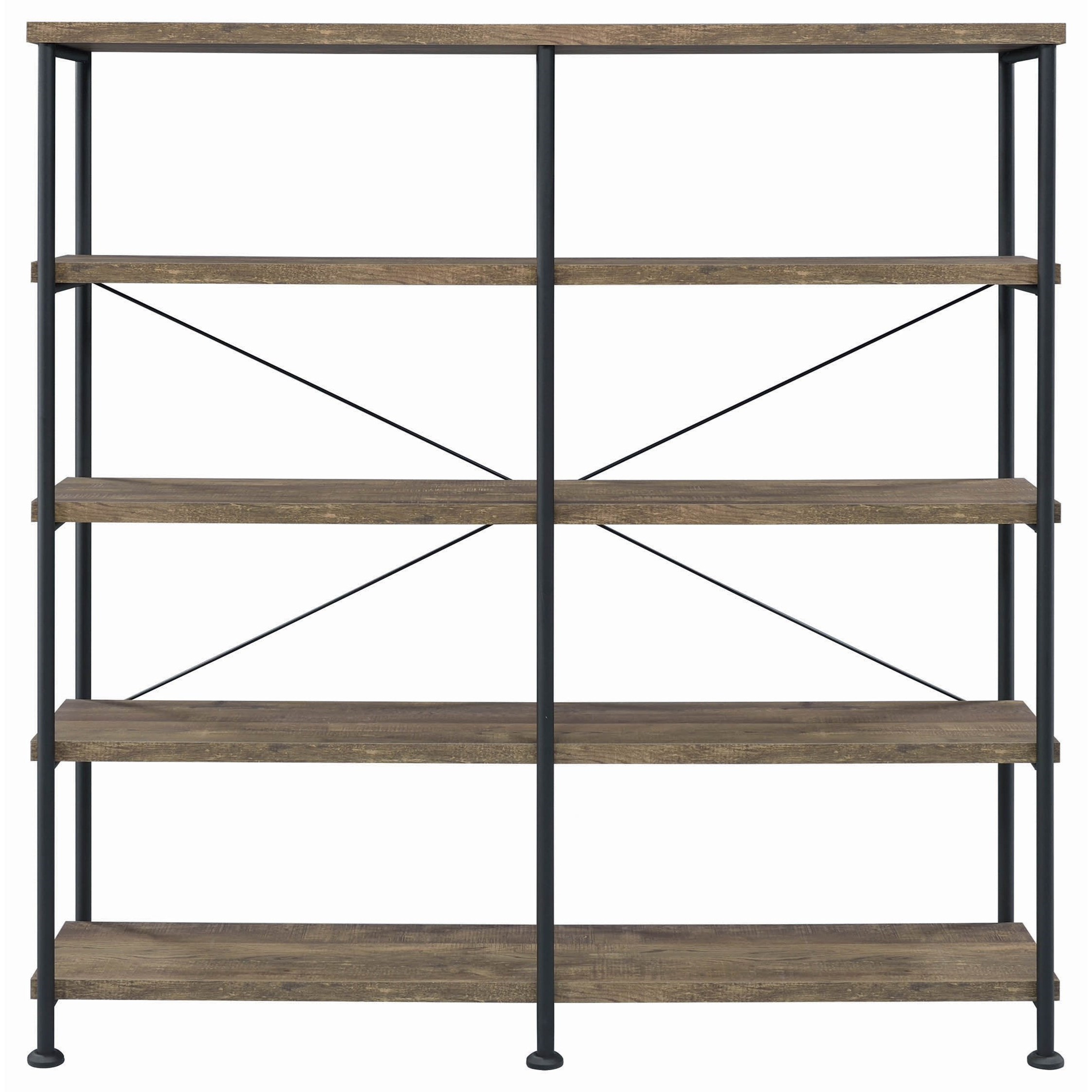 Analiese Bookcase by Coaster at Lapeer Furniture & Mattress Center