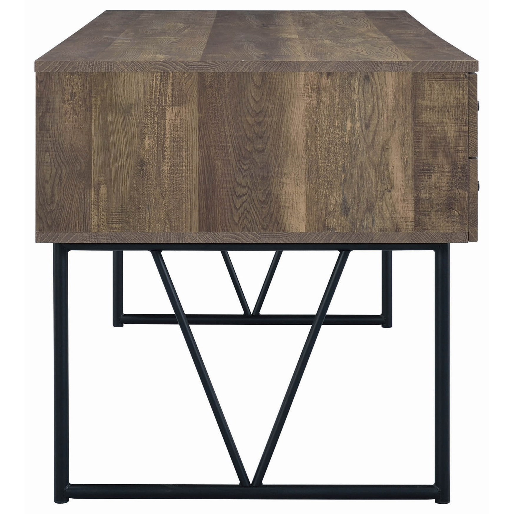 Coaster Analiese Contemporary Writing Desk With Metal Legs