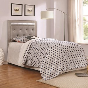 Coaster Anastasha Upholstered Twin Headboard