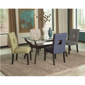 Coaster Andenne 5 Piece Dining Table Set